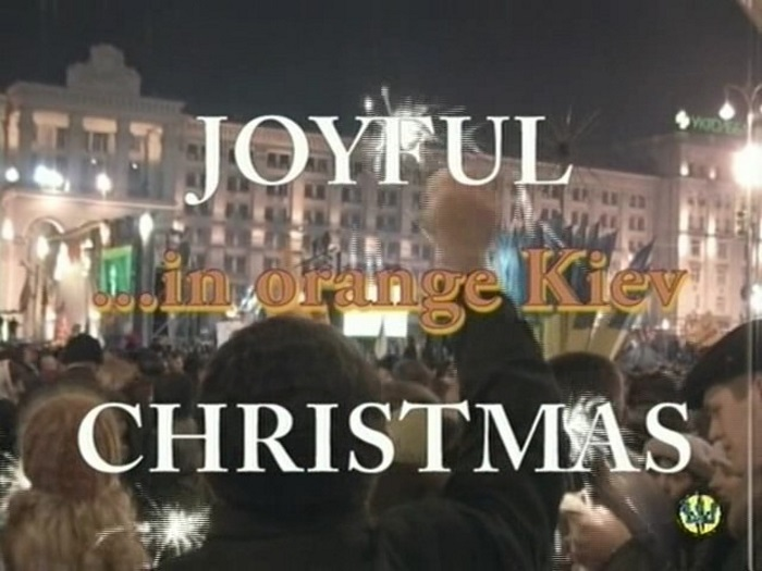 Joyful Christmas In Orange Kiev-Family Nudism