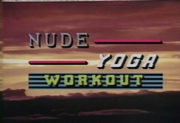 Nudist Documentary Video-Yoga Workout Nude  ヨガワークアウトヌード