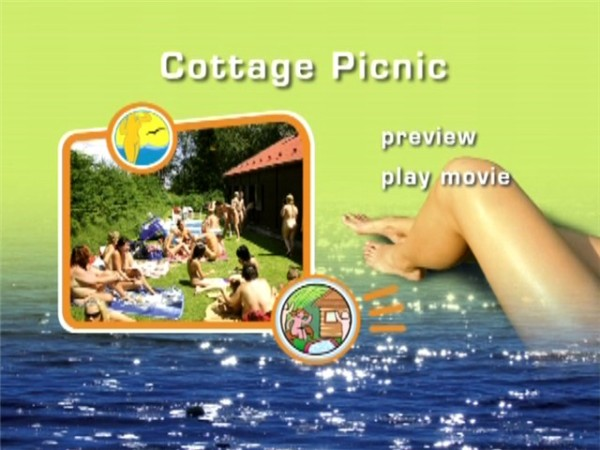 Cottage Picnic-Naturist Freedom  コテージピクニック