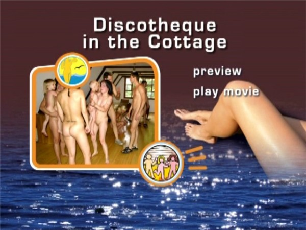 Discotheque in the Cottage-Naturist Freedom  コテージでディスコ