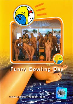 Funny Bowling Day-Naturist Freedom  おかしいボーリングデー