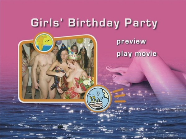Girls Birthday Party-Naturist Freedom  女の子の誕生日パーティー