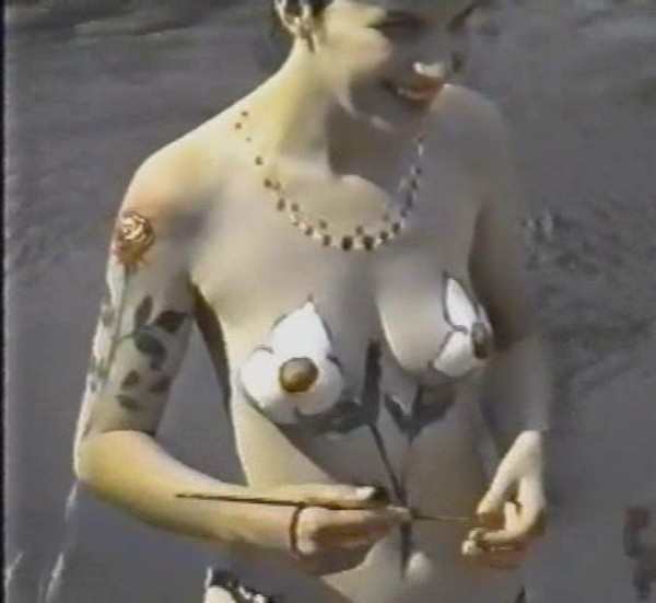Moscow Night on Midsummer July 1996-Nudist Video