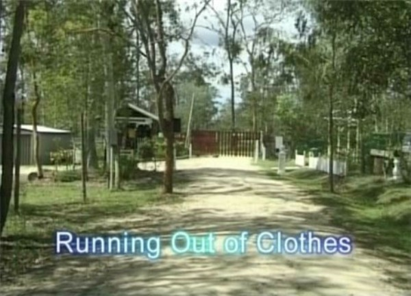 Running out of Clothes-Nudist Video