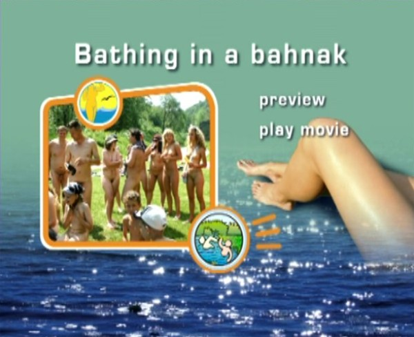 Bathing in a Bahnak-Family Nudism