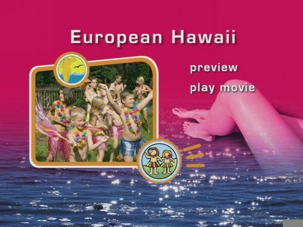 European Hawaii-Naturist Freedom  ヌーディスト家族ビデオ