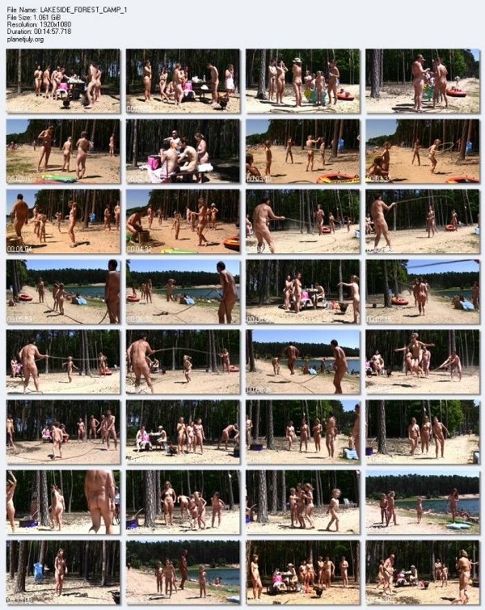 Pure Nudism Video - LAKESIDE FOREST CAMP 1