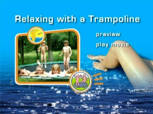 Naturist Family -  Relaxing wiht a Trampoline [Video HD]  層状ににトランポリンをリラックス