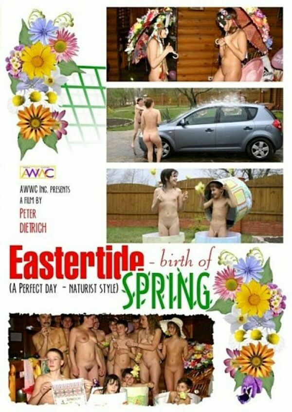 Easter Tide Birth of Spring-Family Nudism ファミリー·ヌーディズム
