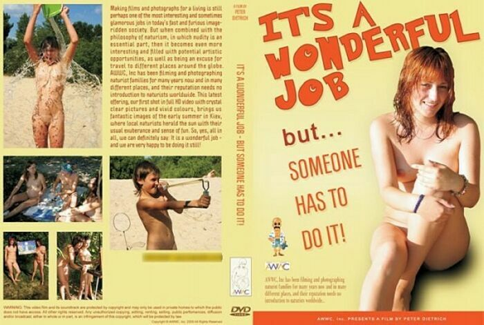 Its a wonderful job - but someone has to do it!-Family Nudism  ファミリーヌーディズム