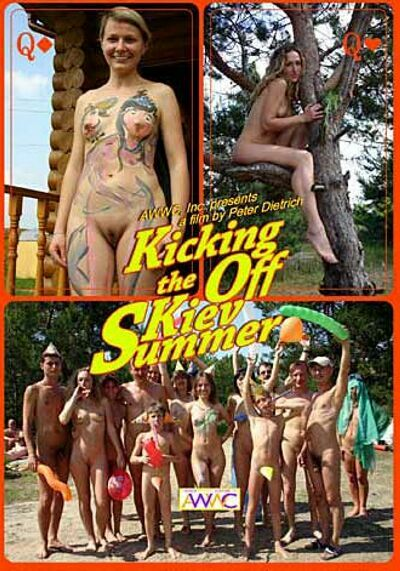 Kicking off the Kiev Summer-Family Nudism ファミリー·ヌーディズム