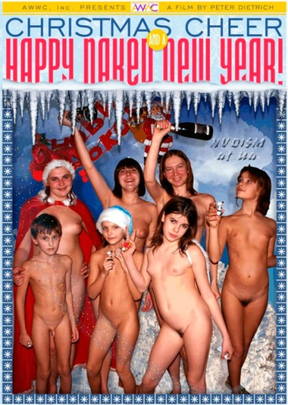 Christmas Cheer and a Happy Naked New Year-Family Nudism クリスマスのごちそうとハッピー裸の新年