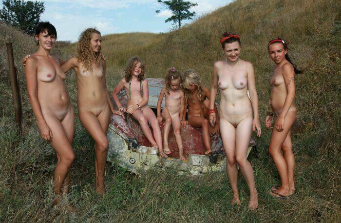 nudist family images