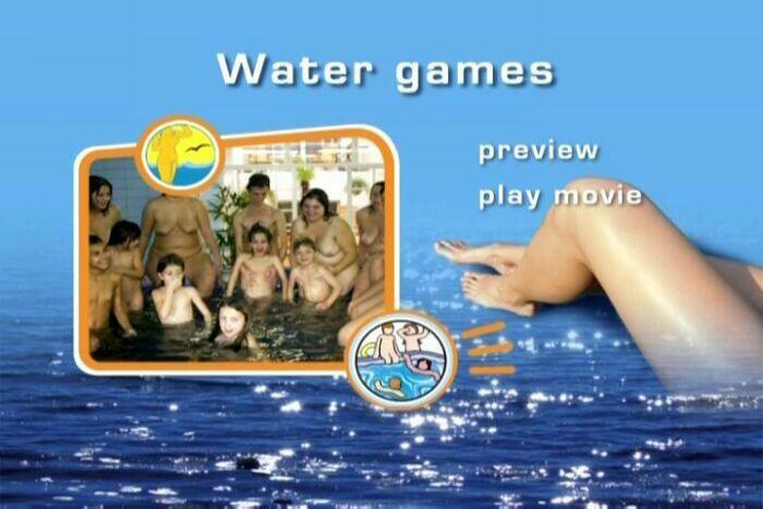 Water Games-Family Nudism  水ゲーム