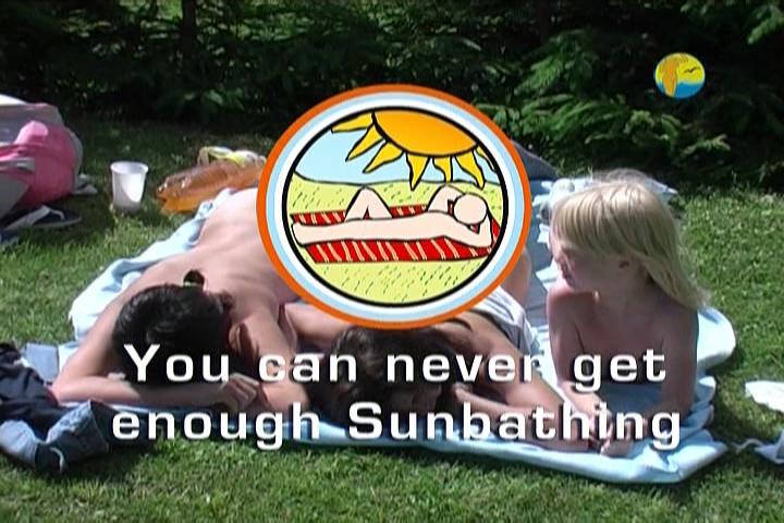 You Can Never Get Enough Sunbathing-Family Nudism