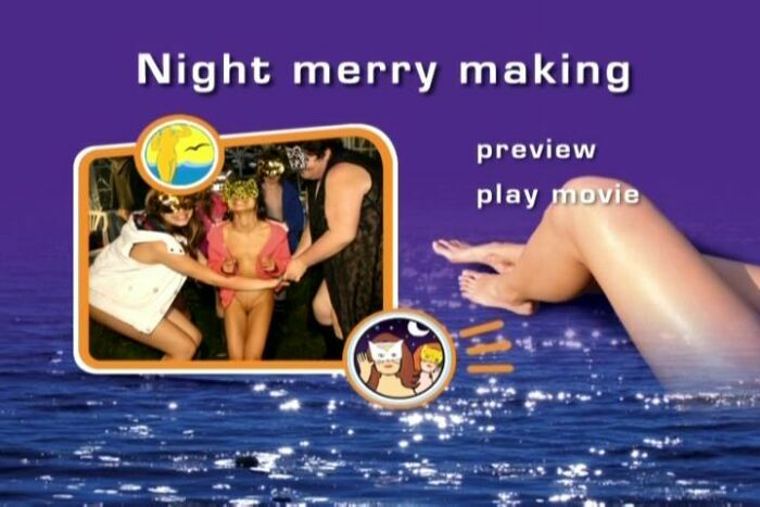 Night merry making-Naturist Freedom