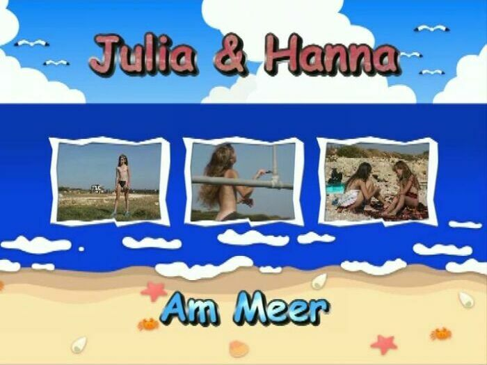 Julia und Hanna am Meer-Teens Nudist Video