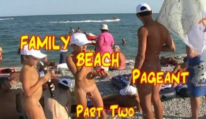 Family Beach Pageant part2-Miss Nudist Junior  ミス·ヌーディストジュニア