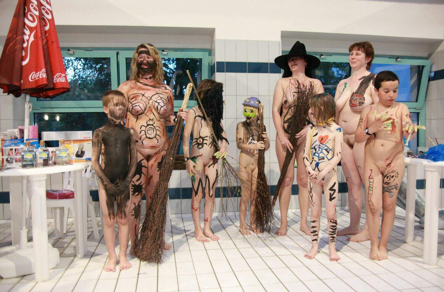 NEW Halloween Pool Party-Naturist Family Events Pictures [Purenudism 2014]