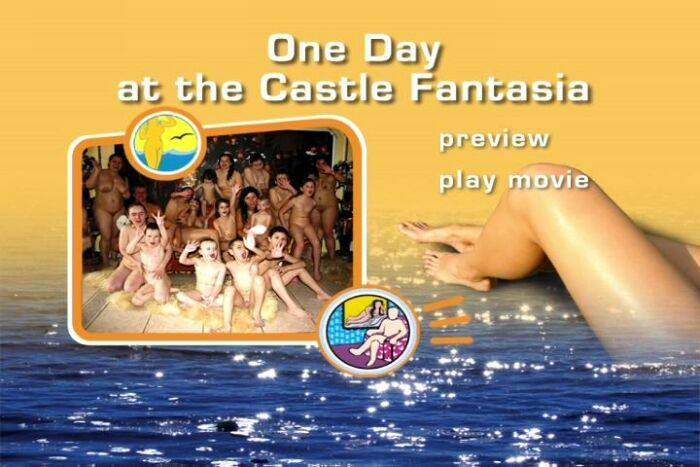 One Day at тhe Castle Fantasia-Naturist Freedom