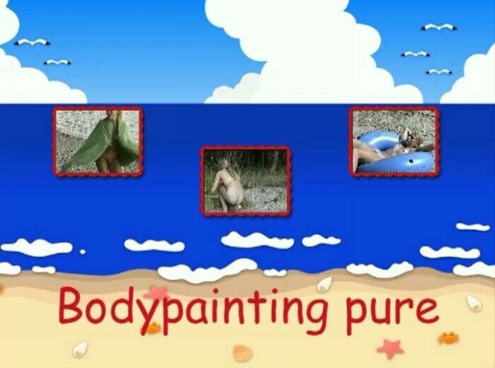 Bodypainting pure-Teens Nudist Family Video [Pure Nudism] ティーンヌーディストファミリー