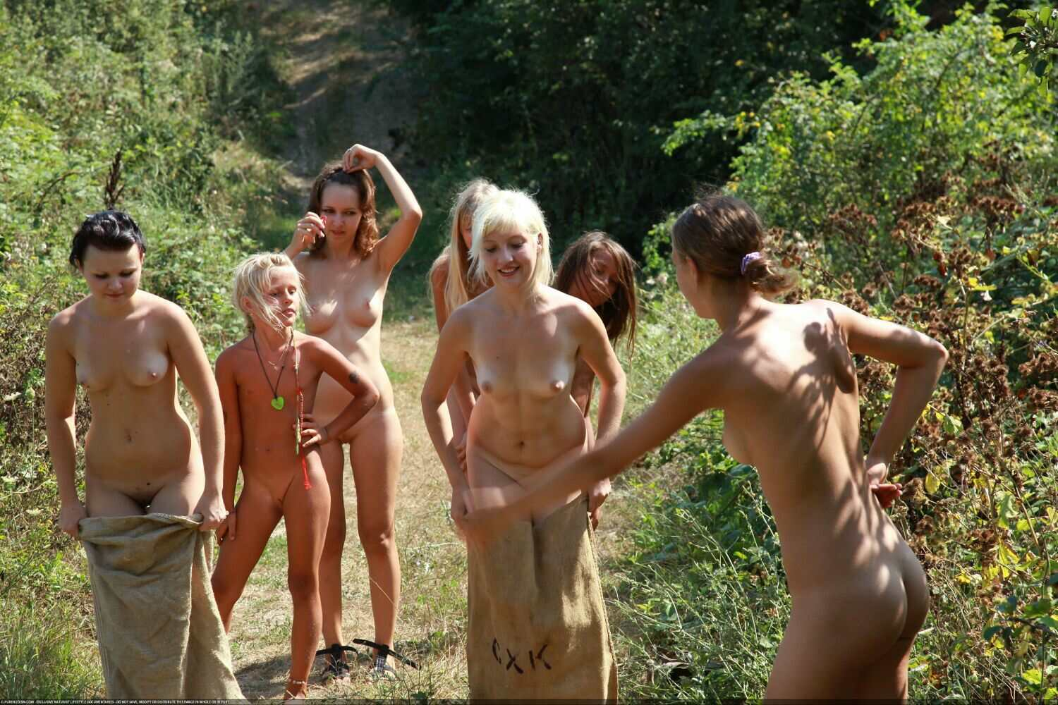 Competition Games-Naturist Family Events Pictures [Young Nudists 2016]