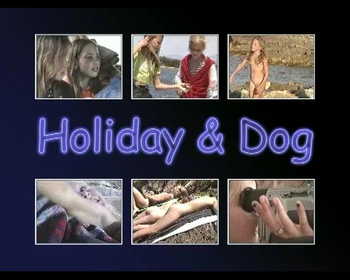Holiday and Dog-Teens Nudist Family Video [Young Nudists]