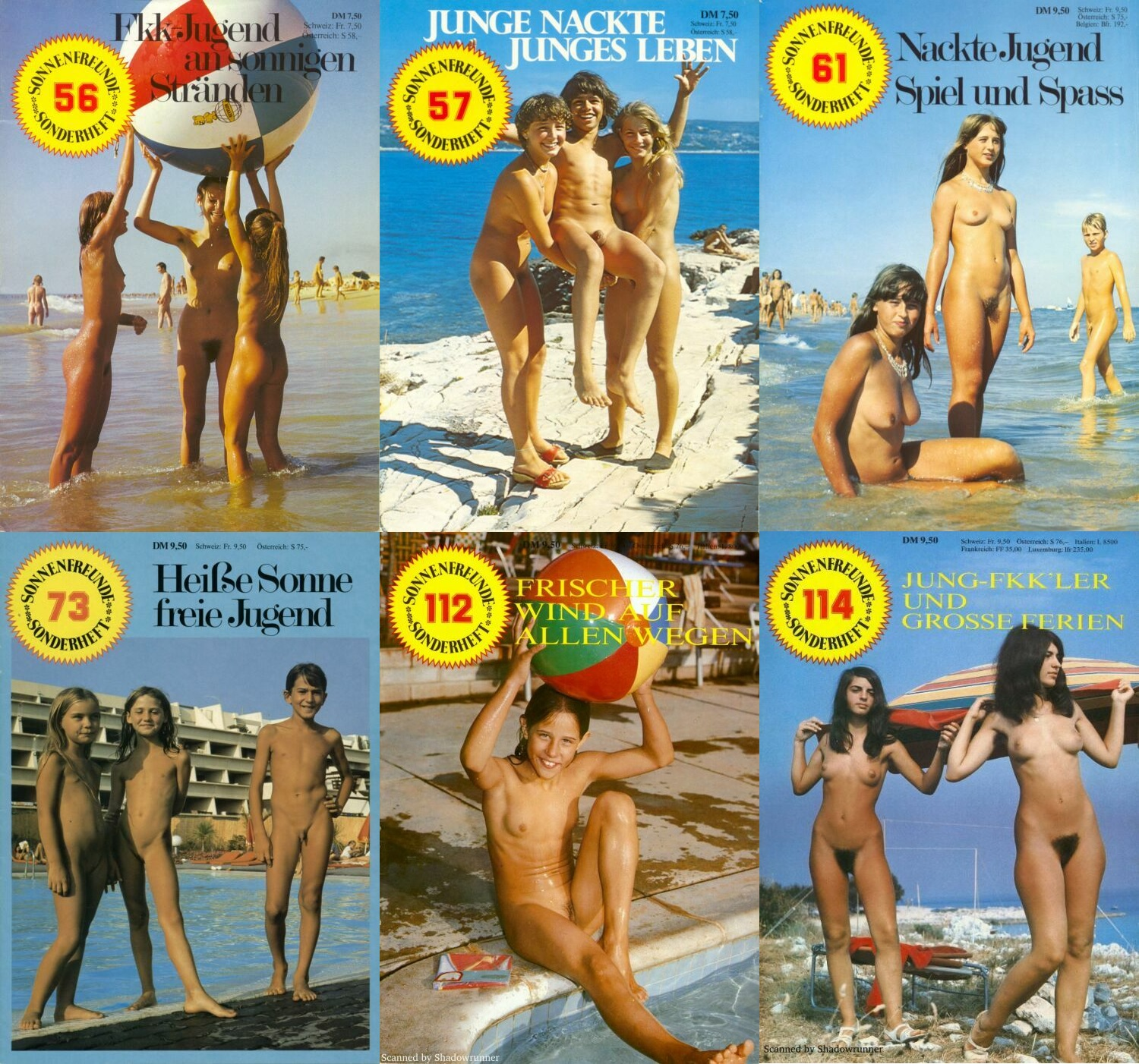Nudist Magazine-Retro Naturists Pictures [Young Nudists]