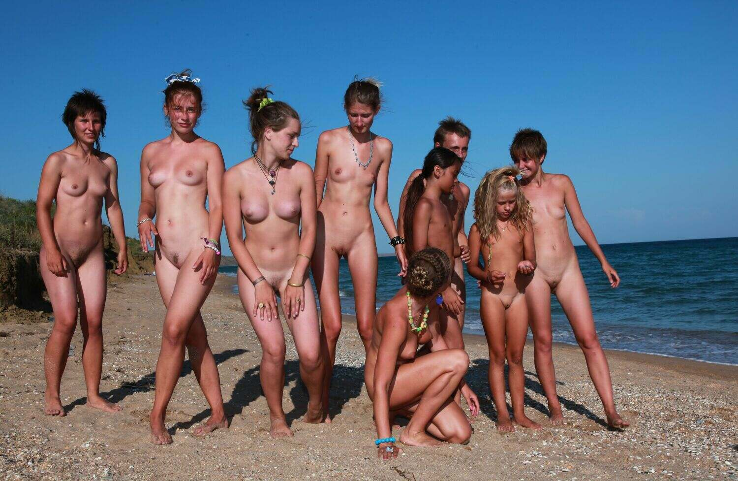 Blue Danube Coast-Naturist Family Events Pictures Young Nudists [Purenudism 2016]