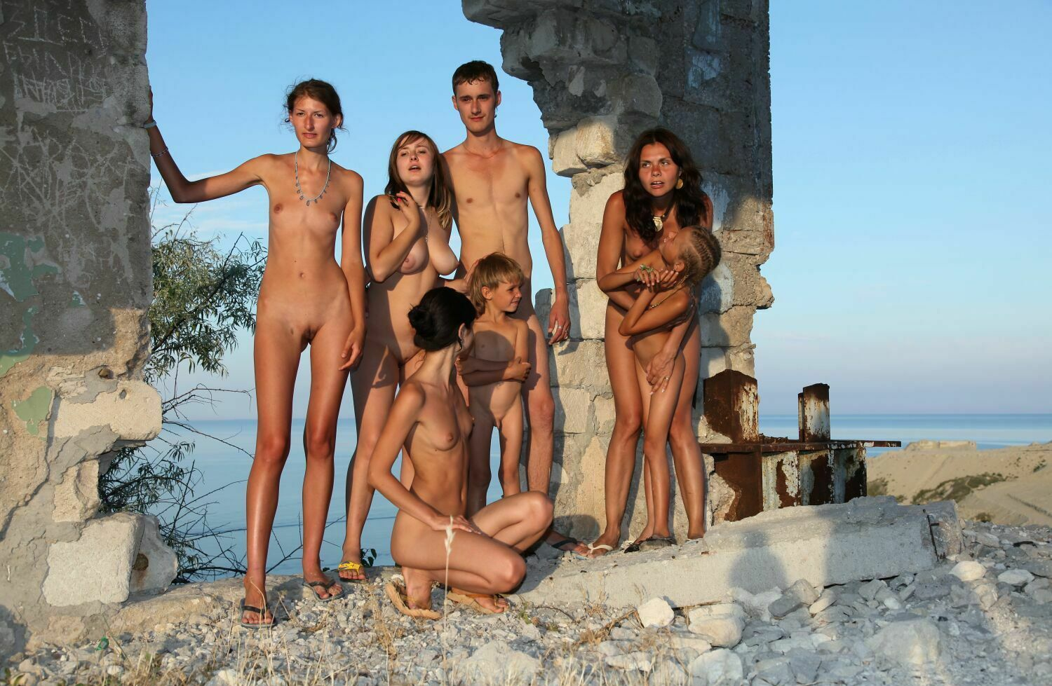young nudists pictures
