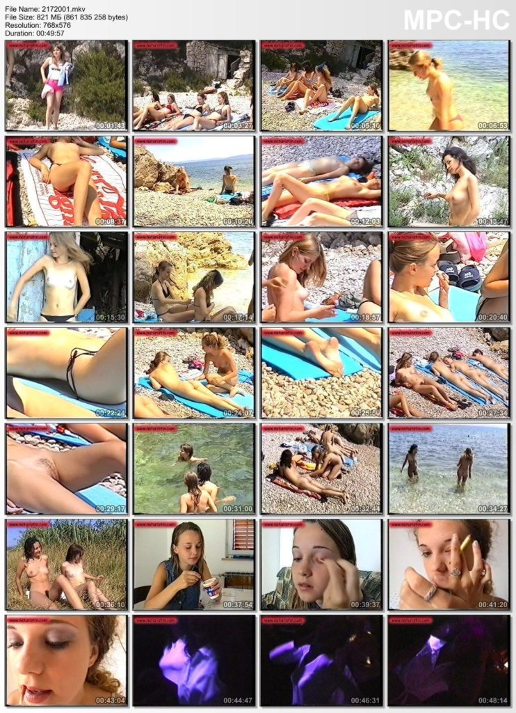 Holiday for girls nudist