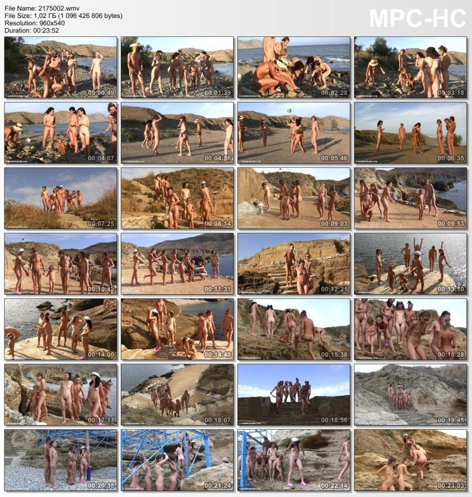 Pure nudism in HD - Under The Yamu Trees 2