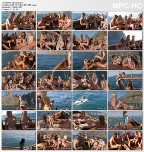 Teen girls nudists - Nudist boat cruise