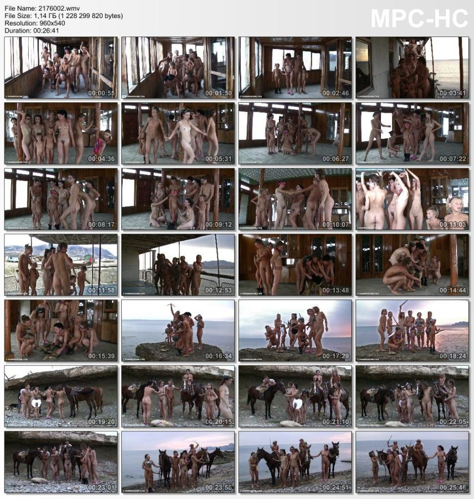 Family nudism in HD - Rocky Canyon Cabin part 2